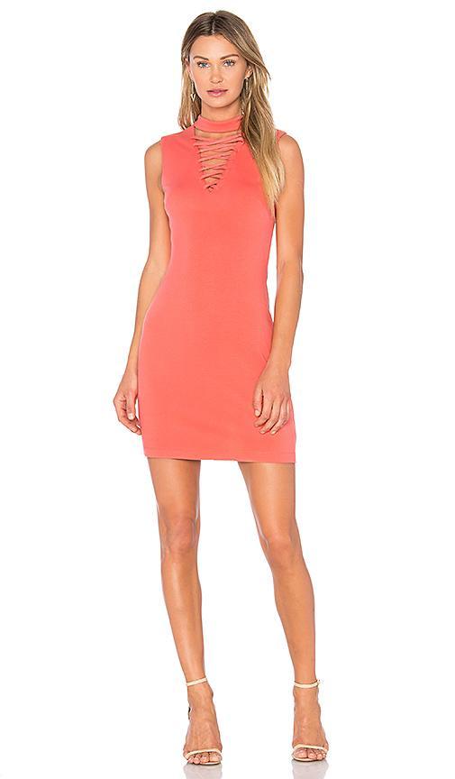 Bailey44 El Caiman Dress In Coral
