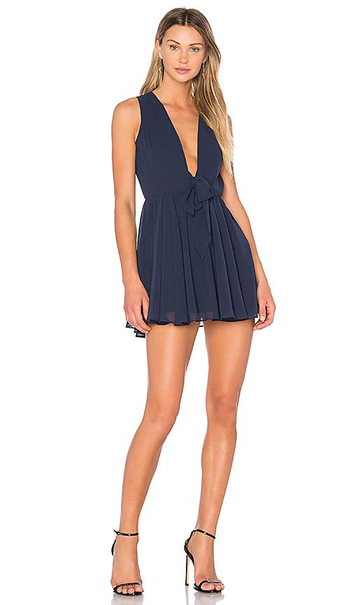 Lovers & Friends X Revolve Andie Dress In Blue
