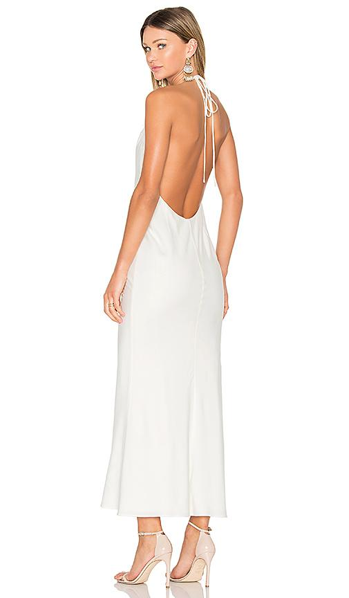 Fame And Partners X Revolve Lux Maxi Dress In Ivory