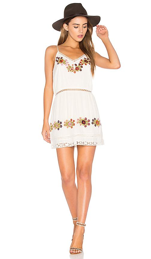 Tularosa London Slip Dress In Ivory