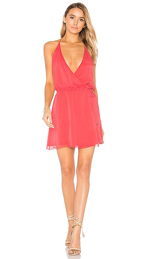 The Jetset Diaries Shale Mini Dress In Red