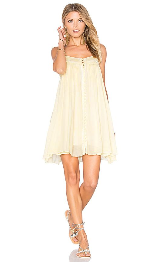 Yfb Clothing Bevy Dress In Butter Cream