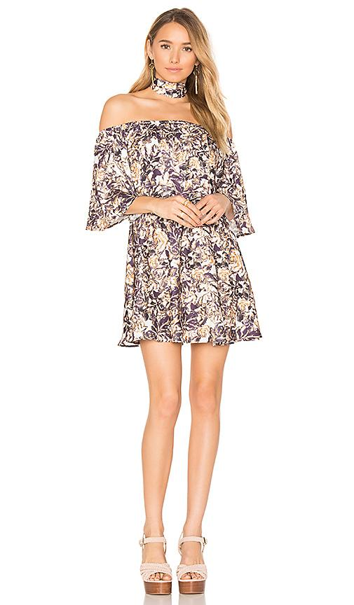 House Of Harlow 1960 X Revolve Athena Dress In Blurred Floral