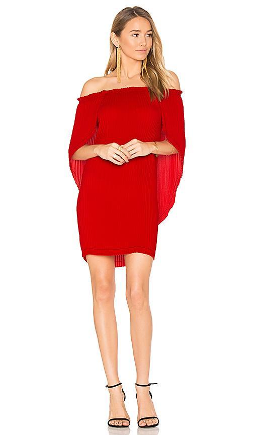 Delfi Ava Dress In Red