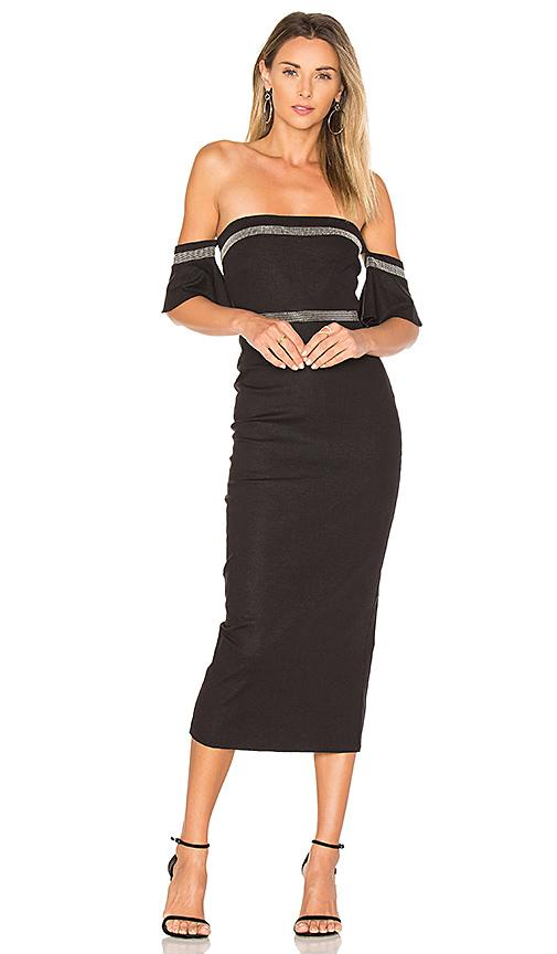 Stone Cold Fox Forenze Dress In Black