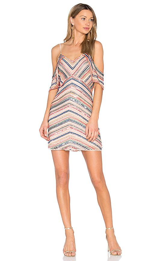 Parker Jerry Dress In Peach