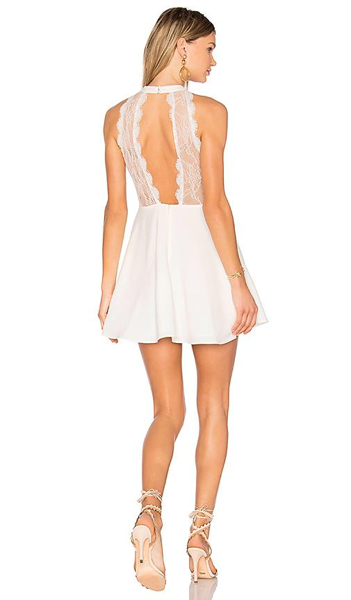 Nbd Gimmie More Dress In White. In Ivory