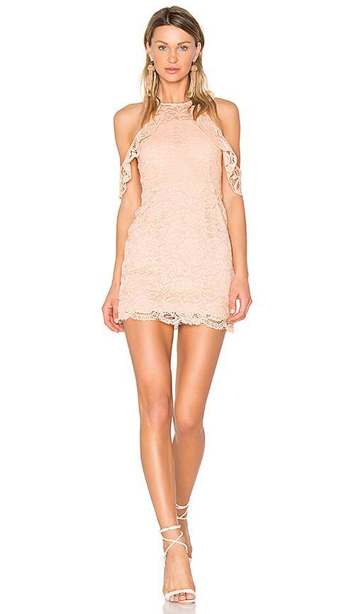Nbd X Revolve Celeste Dress In Peach