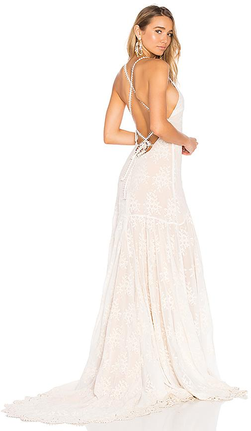 Daughters Of Simone X Revolve Shane Gown In White