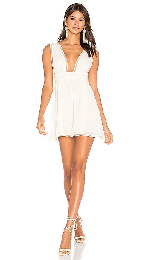 Nbd Isaac Dress In Cream