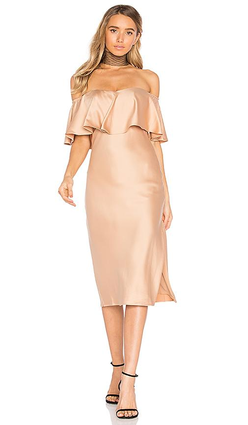 House Of Harlow 1960 X Revolve Newton Dress In Brown