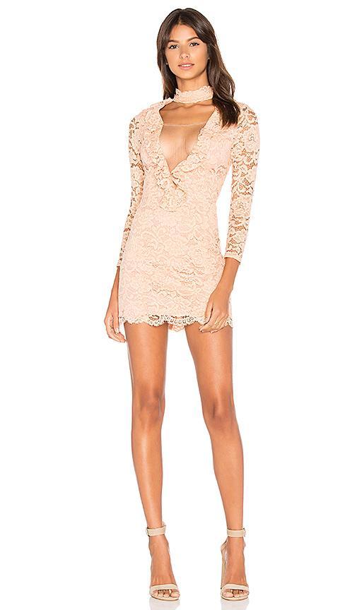 Nbd X Revolve Lizzy Dress In Peach