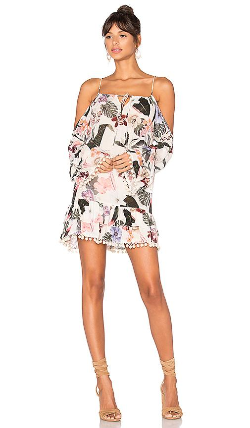 Lovers & Friends Tropical Oasis Dress In White