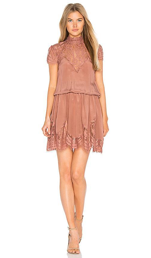 Ravn Nela Dress In Rose