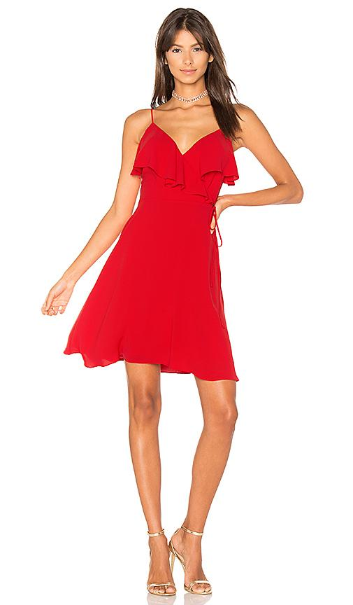 Bailey44 Ruffle Negril Dress In Red
