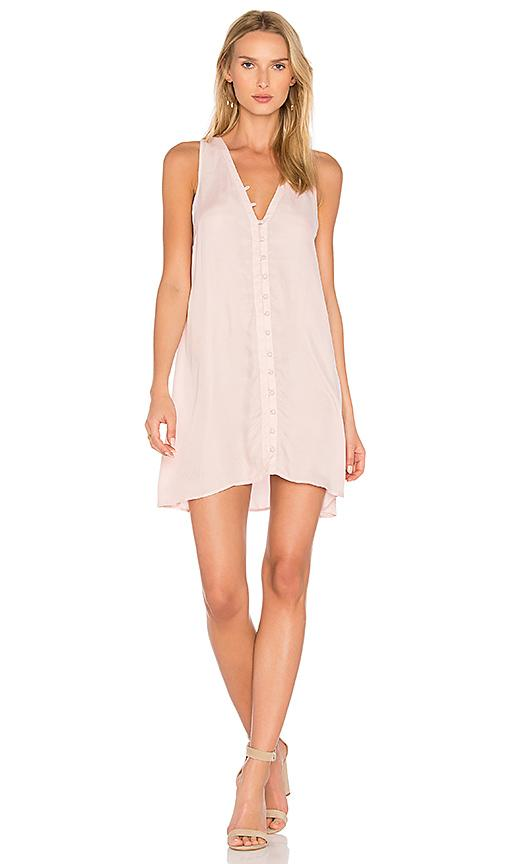 Yfb Clothing Dylan Dress In Pink