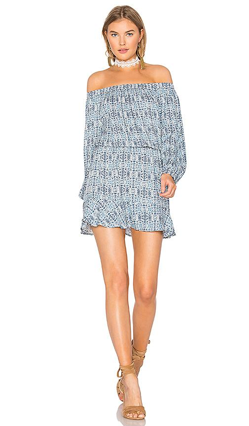 Soft Joie Sarnie Off-the-shoulder Dress In Blue