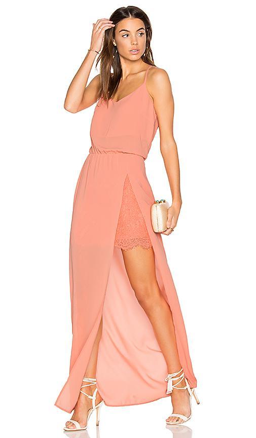 Heartloom Anndra Dress In Coral