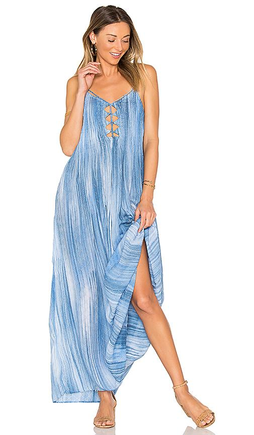 Indah Imagine Maxi Dress In Blue