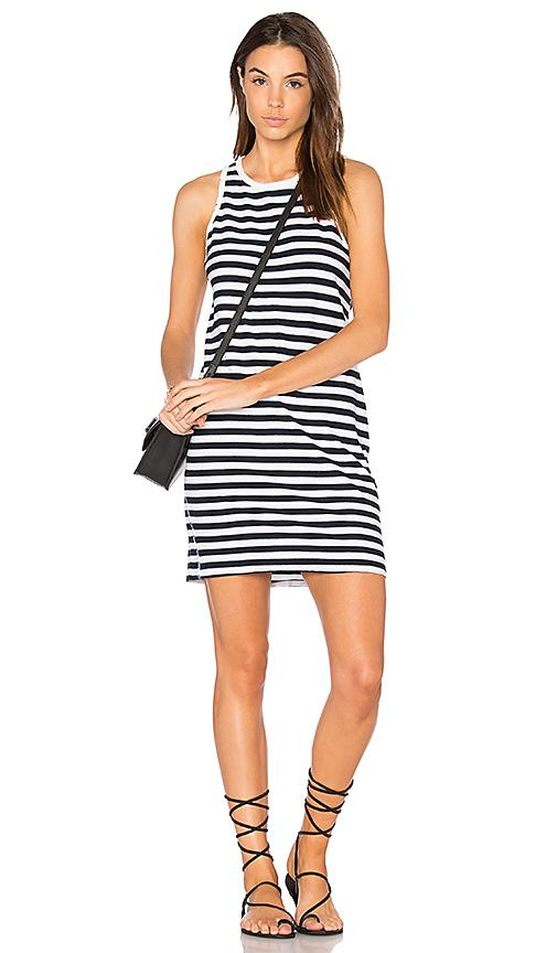 Nation Ltd Beatrice Stripe Tank Dress In Blue
