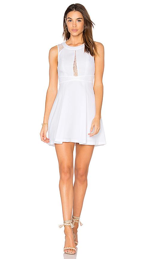 Bcbgeneration Fit & Flare Dress In White