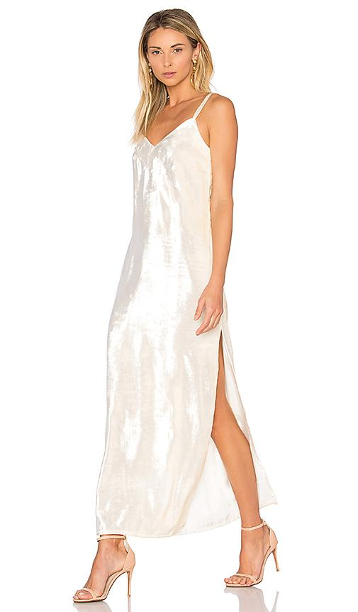 Theperfext Camila Dress In Cream
