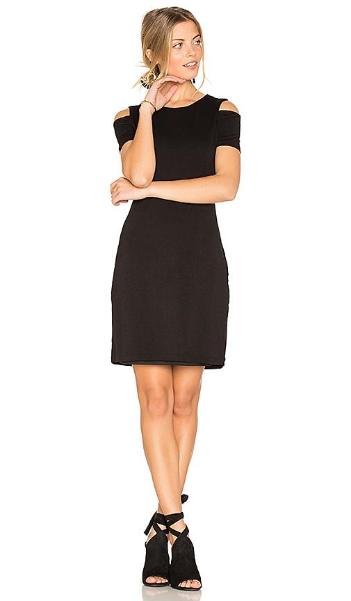 1.state Cold Shoulder Dress In Black