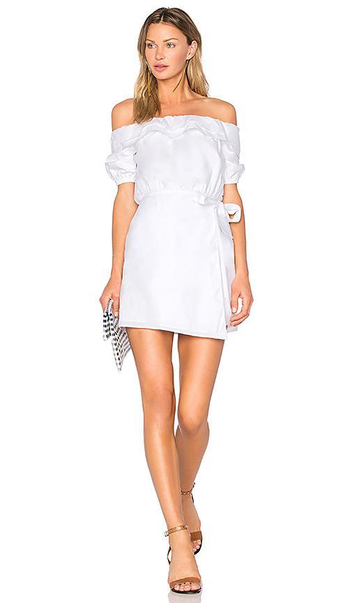 Lovers & Friends X Revolve Jules Dress In White