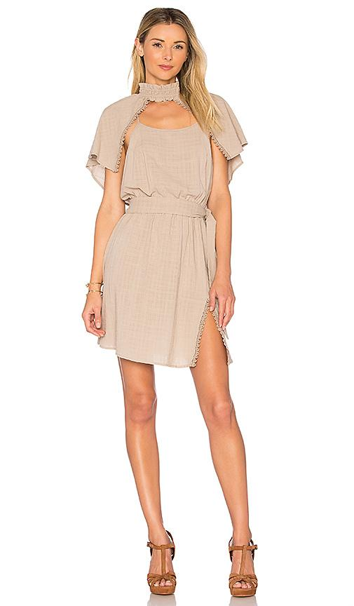 Somedays Lovin Young Wild Thing Dress In Gray
