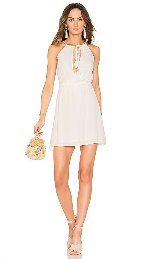 Wyldr The Babe Mini Dress In Ivory