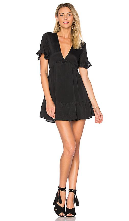 Privacy Please Central Dress In Black