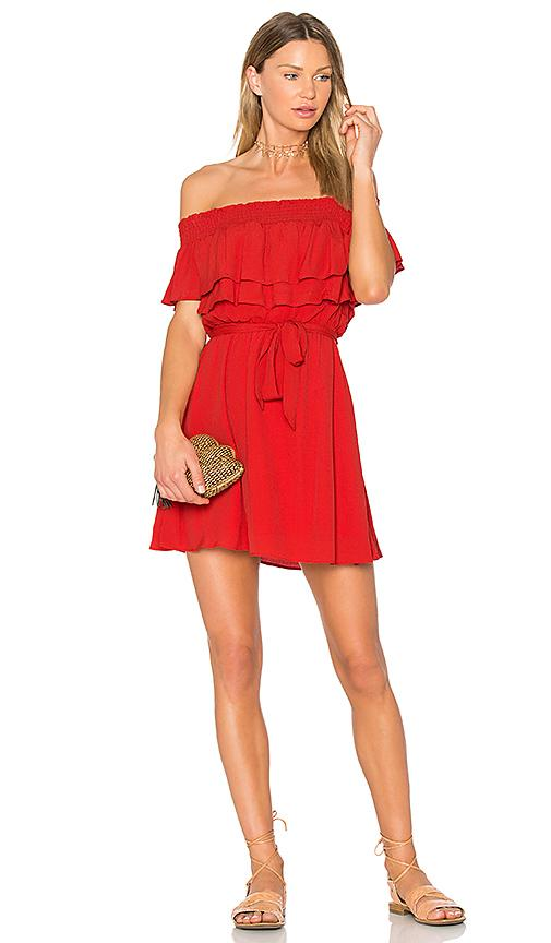 Lovers & Friends Suntime Dress In Red