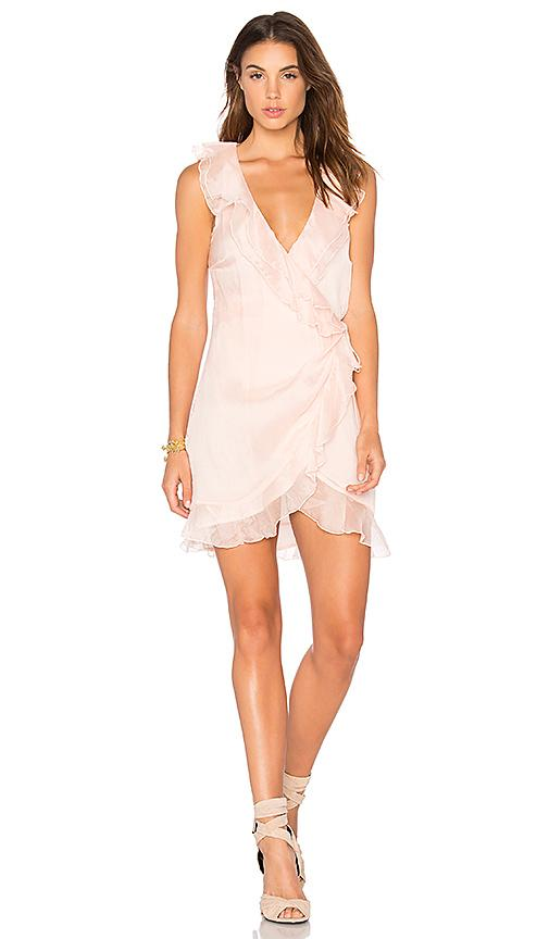 The Jetset Diaries Lanza Mini Dress In Blush
