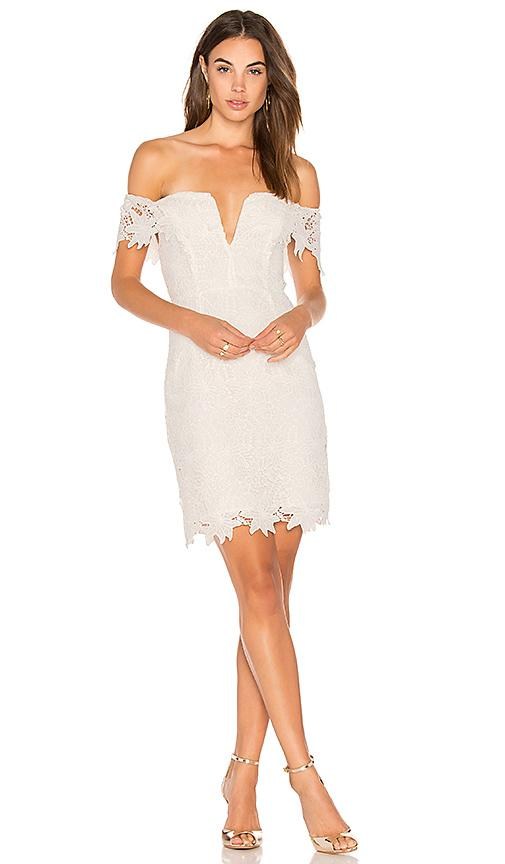 Astr Daniela Dress In White