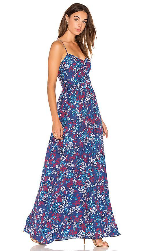 Parker Virginia Dress In Blue