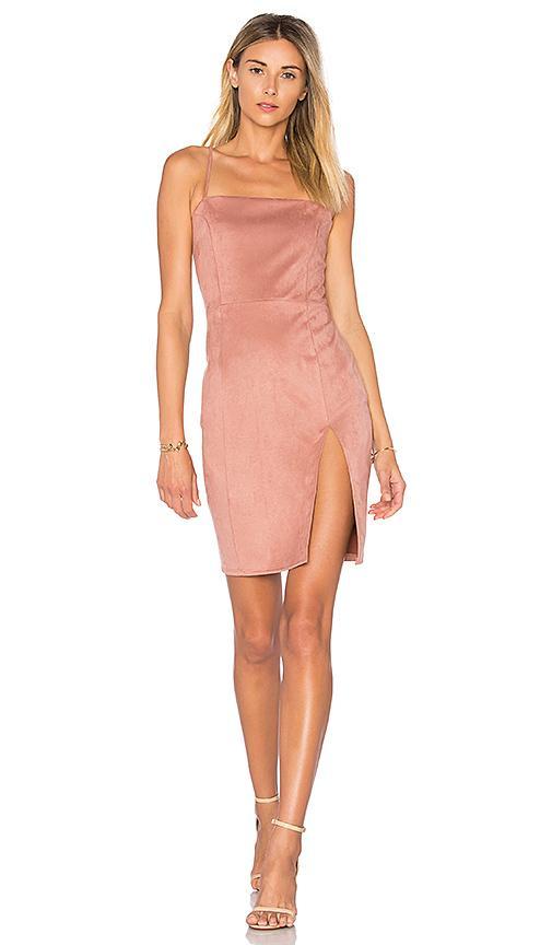 Donna Mizani Willa Dress In Mauve