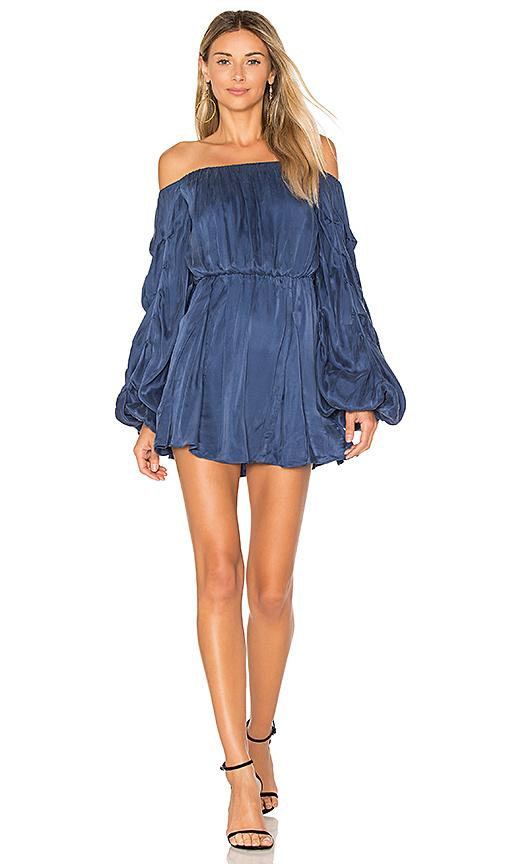 Lovers & Friends X Revolve Windblown Dress In Blue
