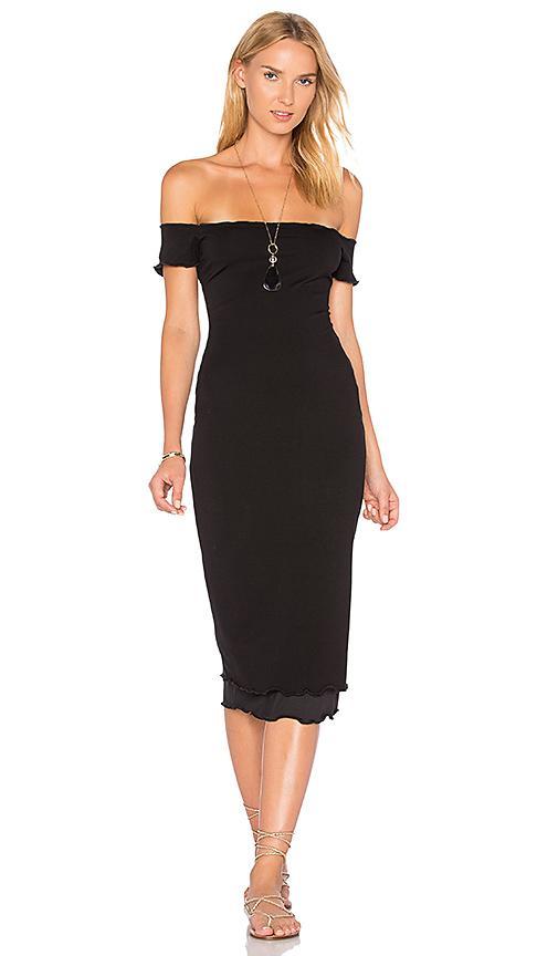 Privacy Please Caperton Dress In Black