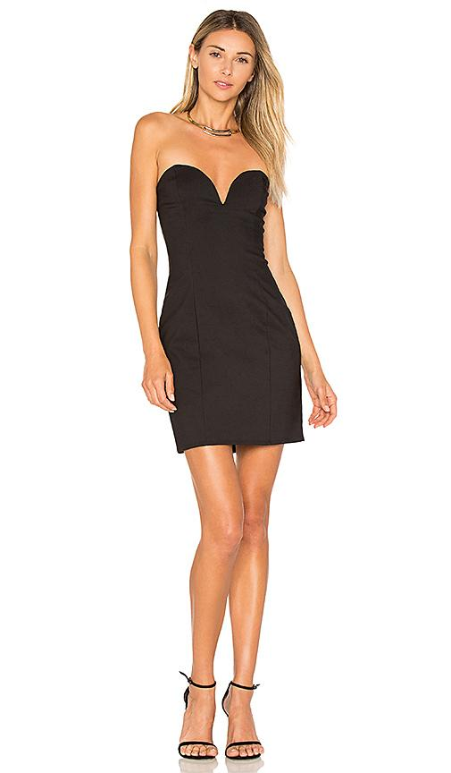 By The Way. Alessia Sweetheart Bodycon Mini Dress In Black