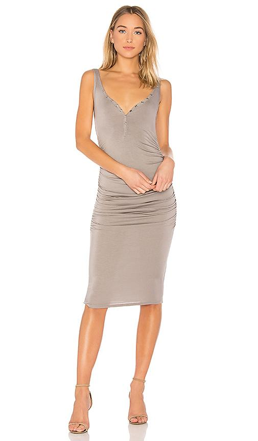Twenty Superior Midi Dress In Gray