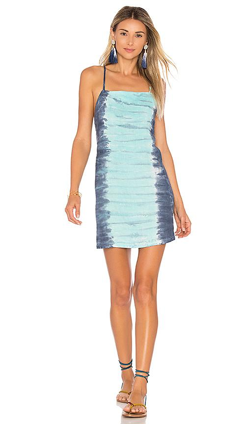 Young Fabulous & Broke Valetta Dress In Turquoise