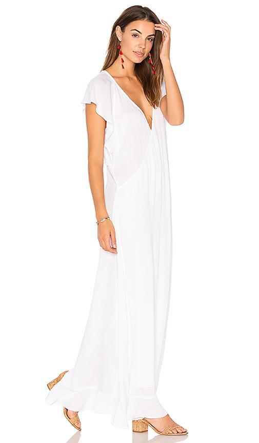 Tavik Tyler Dress In White