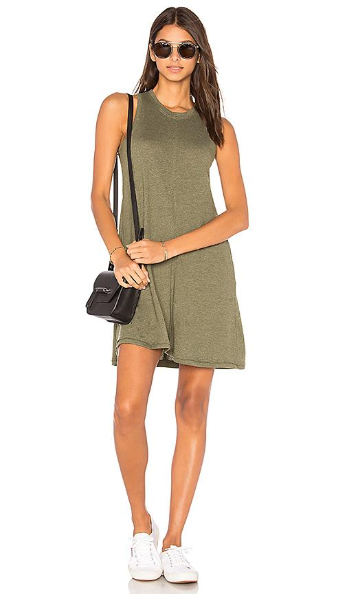 Nation Ltd Phoebe Tank Dress In Army