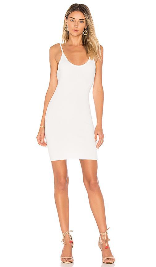 992fe7f1b05d By The Way. Janne Backless Knit Mini Dress In White