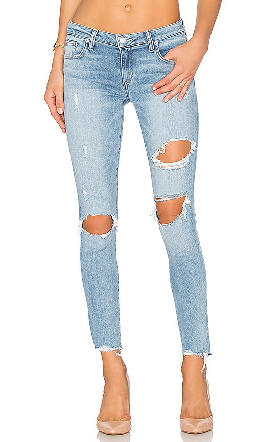 Lovers & Friends Ricky Skinny Jean In Pacific
