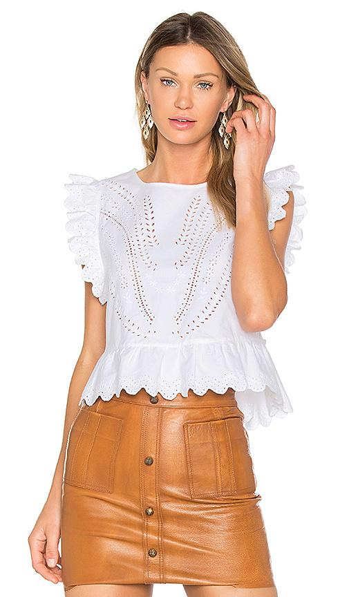 2133d848e Aje Shrimpton Leather Mini Skirt In White | ModeSens