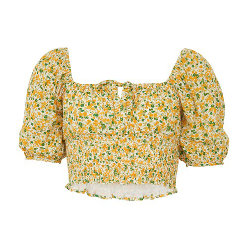 Faithfull The Brand Blouse Rovenza In Rosemary Floral Print