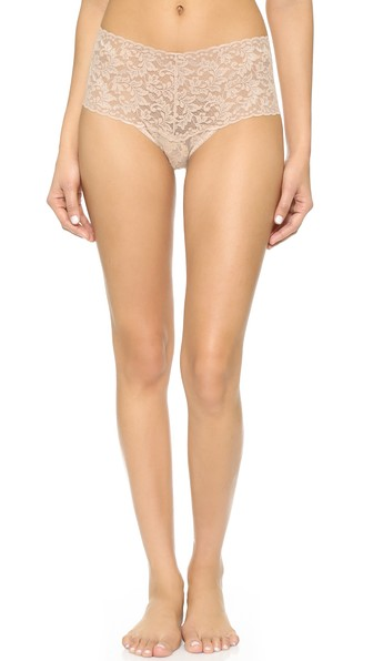 208290913 Hanky Panky Signature Lace Retro Thong In Chai