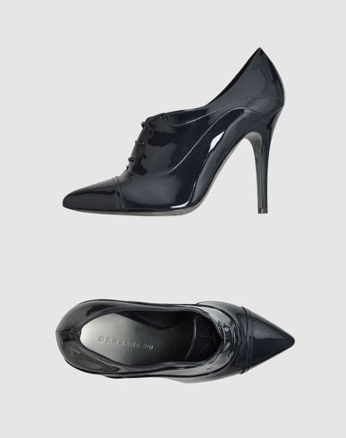 Barbara Bui Laced Shoes In Dark Blue