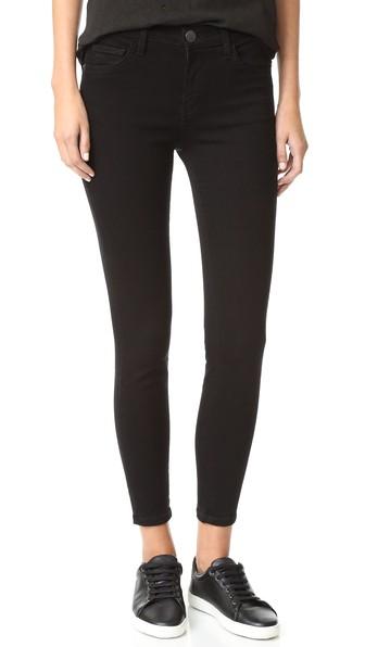 04bf1e05a Current Elliott The High Waist Stiletto Jeans In Jet Black | ModeSens